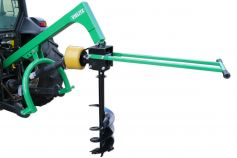 Earth drill with handle
