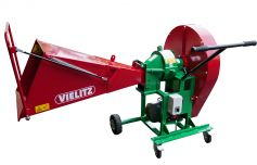 Rough chipper for large wood chips approx. 50 - 70 mm long