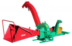 Coarse shredder GH 70 Z-W with trailer coupling and angular gear, for coarse shredded material approx. 50 - 70 mm long