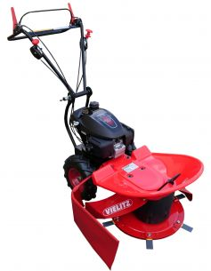 High grass mower K 64-6,5 with 6 blades and variable wheel drive for high grass, horse meadows and undergrowth