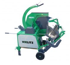 Tilting circular saw for firewood with 280 mm cutting depth