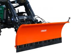 Snow blade for front loader and three-point linkage front view