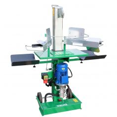vertical log splitter with powerful 10 tons for wood up to 52cm length