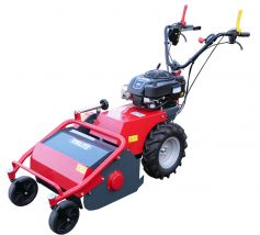 Flail mower T500S with gear shift, steering brake and with Briggs and Stratton engine