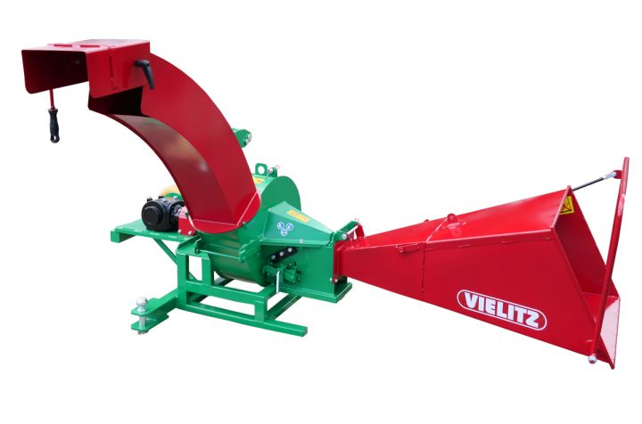 Long wood chipper EBH 70 Z-W with hitch
