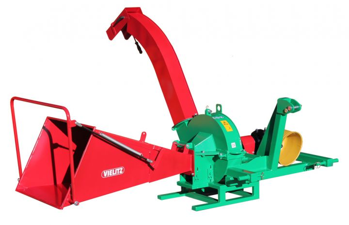 Wood chipper GH 70 Z-W with trailer hitching device