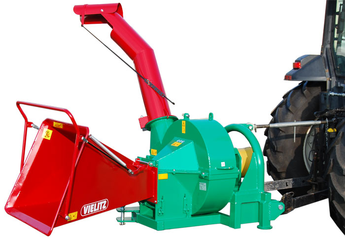 Wood chipper GH 150 Z-A with hitching device