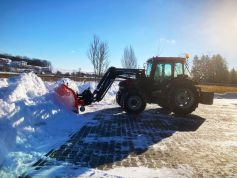 Snow pusher SN 260