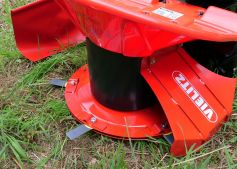 6 blades for clean mowing work