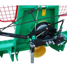 Clearly arranged and maintenance-friendly cable winch