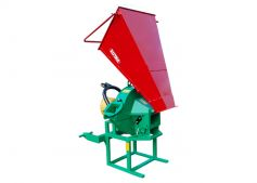 Transport position coarse chipper