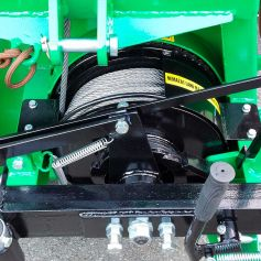Forestry Cable winch 25kN 2,5to.