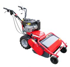 Professional multi-seat flail mower
